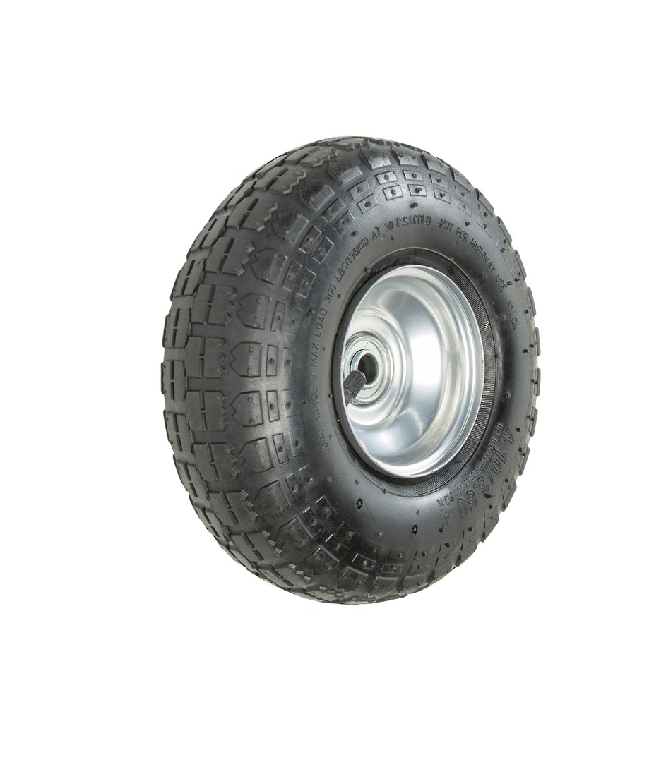 Pneumatic Wheel - Steel Rim - 410/350x4 Universal - FB1805 image 0
