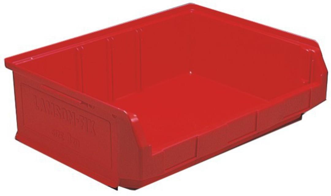 Storage Bin - Size 3ZD - 3ZD-BIN-RED image 0
