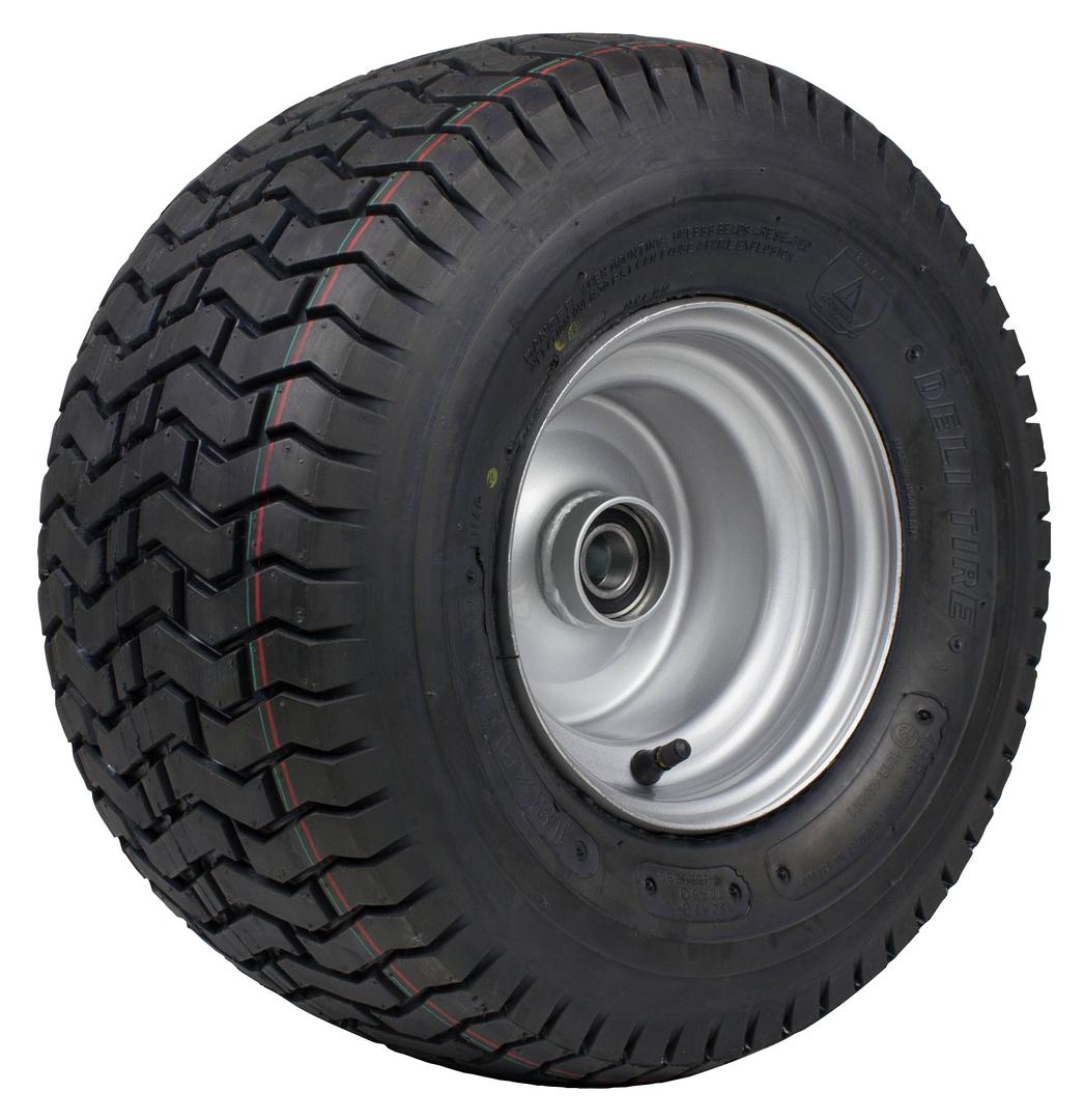Pneumatic Wheel - Steel Rim - 18/950x8 Turf - RWY200-189T image 0