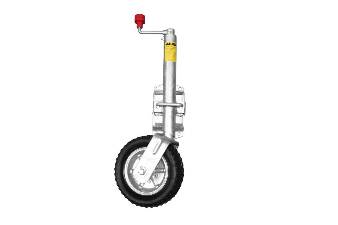 Swing up type Jockey Wheel 250mm rubber wheel JW 20 image 0