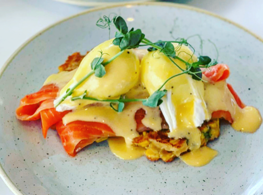 Eggs Benedict with Salmon image 0