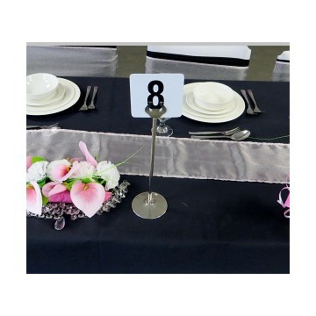 Table Number Holder - Cafe Style image 0
