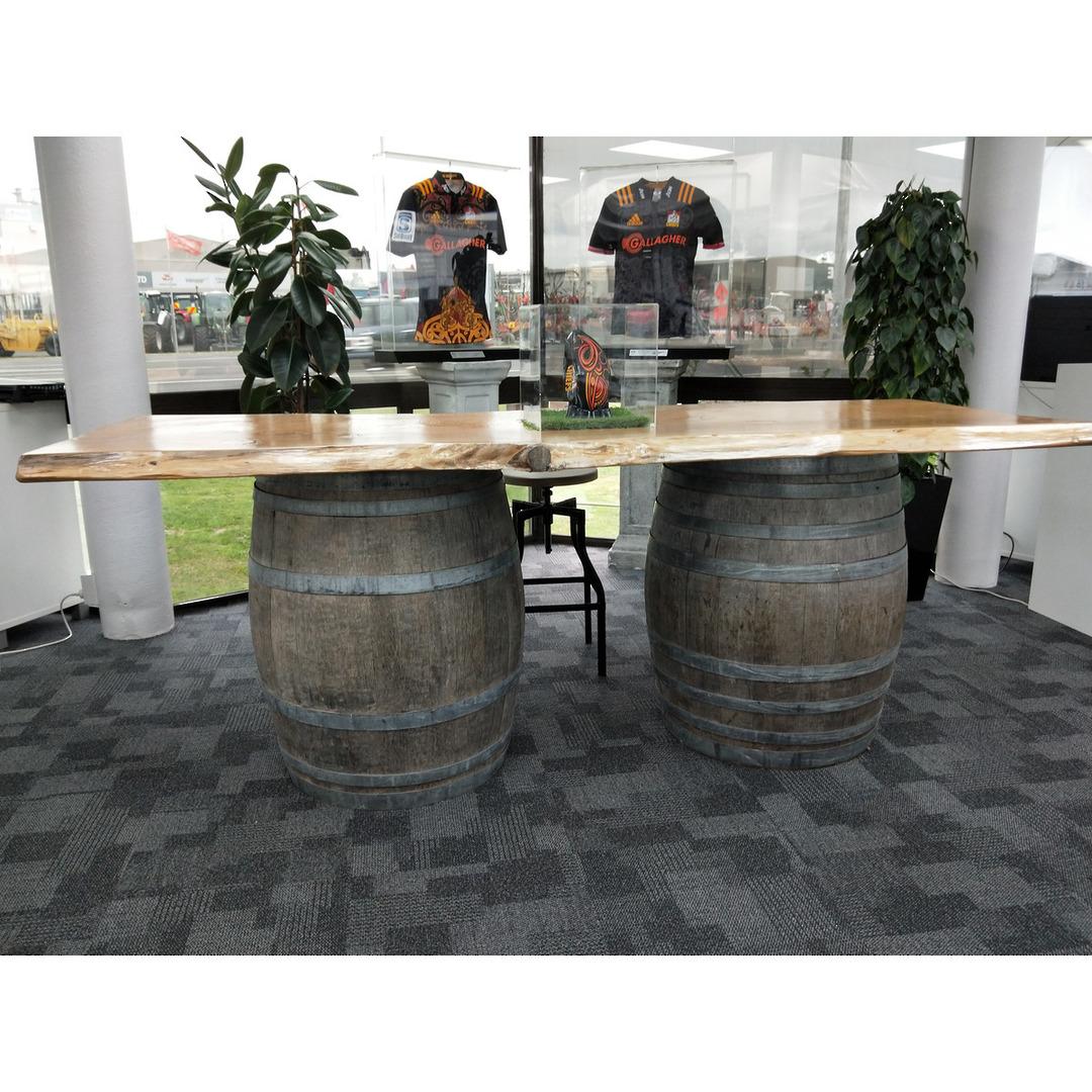 Wine Barrel Table Top image 0