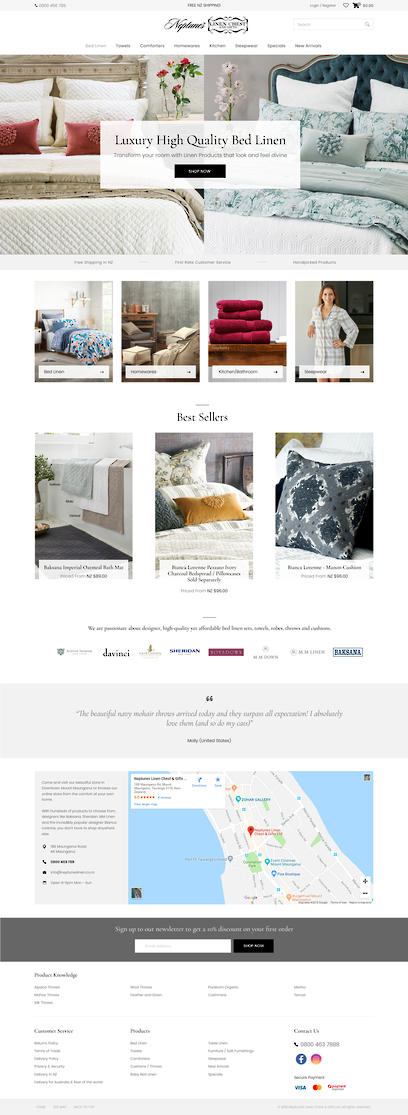 Storeit Website Design by Zeald