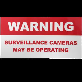 CCTV STICKER