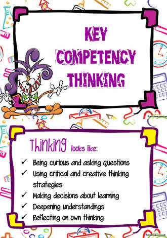 Key Competencies | Thinking | ICT Chart