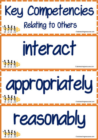 Key Competencies | Relating to Others | Vocabulary