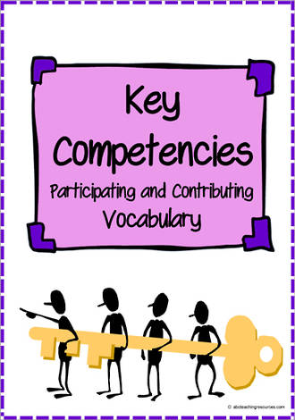 Key Competencies | Participating and Contributing | Vocabulary