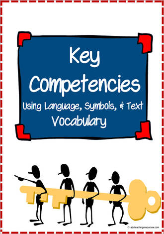 Key Competencies | Using Language, Symbols and Text | Vocabulary