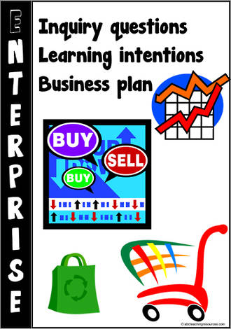 Enterprise | Business Plan | Learning Intentions