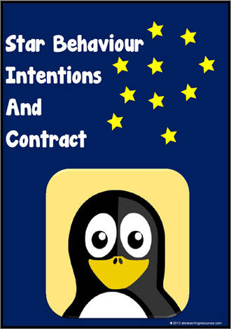 Star Behaviour | Learning Intentions | Contract