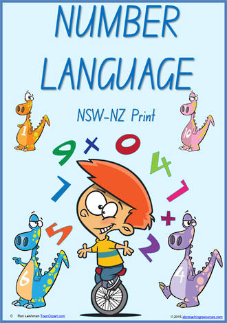 Foundation Handwriting | Terminology | Number Language | Charts | NSW-NZ Print