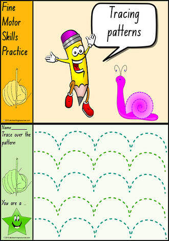 Foundation Handwriting | Practice | Tracing Patterns | Colour Charts | NSW-NZ  Print