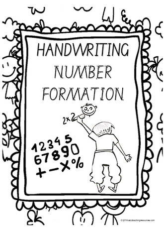Year 1 Handwriting | Letter Formation | Number | Charts | SA Print