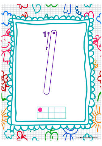 Year 1 Handwriting | Letter Formation | Number | Charts | NSW-NZ Print
