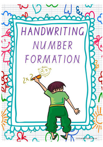Year 1 Handwriting | Letter Formation | Number | Charts | VIC PreCursive