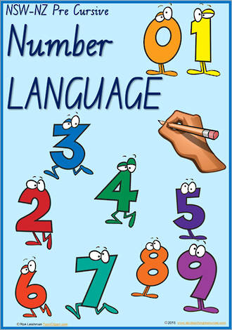 Year 2 Handwriting | Terminology | Number Language | Charts | NSW-NZ PreCursive