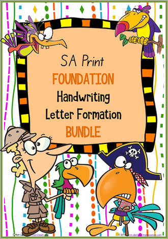 Foundation Handwriting | Letter Formation | BUNDLE | SA Print