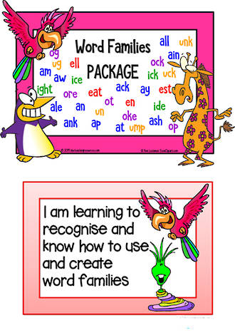 Phonics | Word Families | PACKAGE