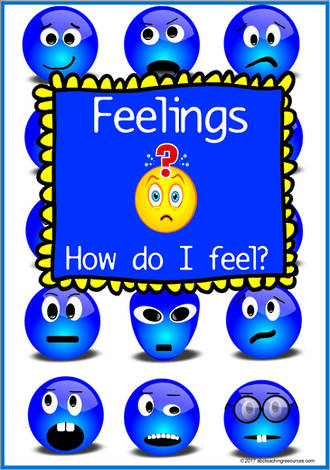 How do I feel? | Feeling and Action | Charts and Cards