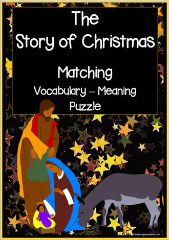 The Story of Christmas | Word - Meaning | Puzzle