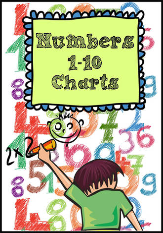 Numbers | 1-10 | Charts