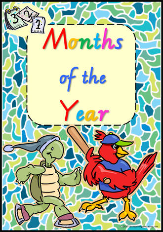 Months of the Year | VIC Modern PreCursive | Charts