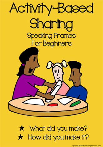Activity-based Sharing | Speaking Frames | Beginning Learners