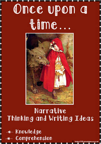 Once upon a time…| Narrative | Critical & Creative Thinking | Writing Prompt | Set 1