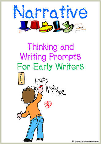 Narrative | Critical & Creative Thinking | Writing Prompts | Early Writers