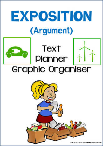 Exposition Writing | Text Planner | Graphic Organiser | Chart