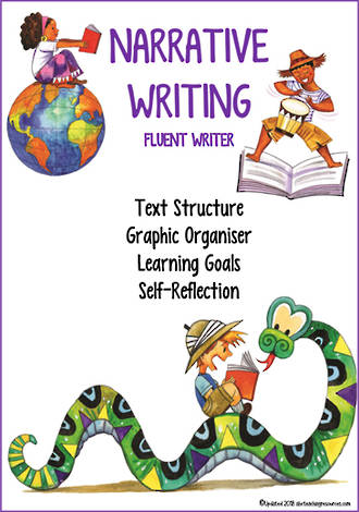 Narrative Writing | Learning Intentions and Self Reflection  | Fluent Writer