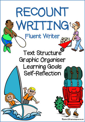 Recount Writing | Learning Intentions and Self Reflection | Fluent Writer