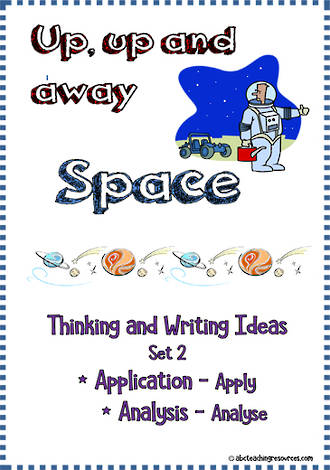 Space | Critical & Creative Thinking | Writing Prompts | Set 2