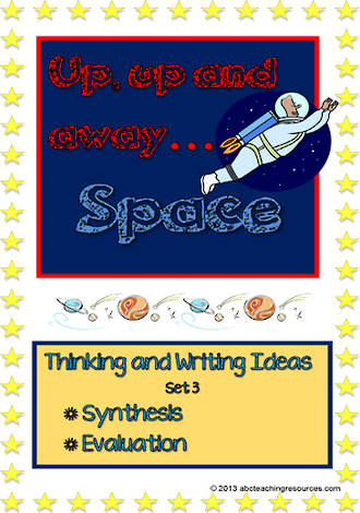 Space   Critical & Creative Thinking    Writing Prompts   Set 3