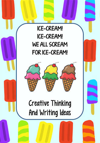 Ice-cream | Critical & Creative Thinking | Writing Prompts | Fluent Writers