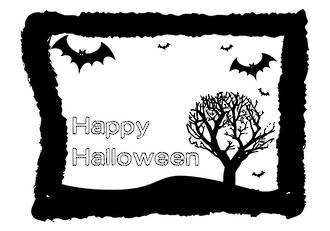 Halloween Bats | Greeting Card | Writing Prompt