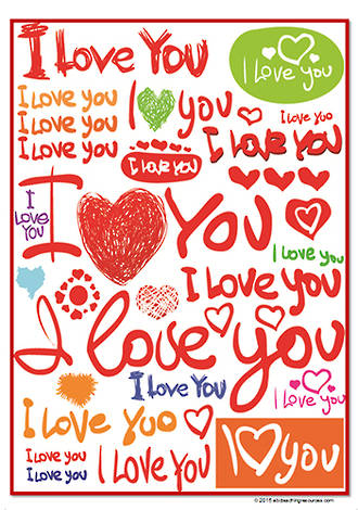 Mother's Day | I Love You Card | Writing Prompt