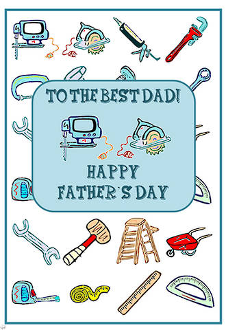 Father's Day | Handyman Card | Writing Prompt