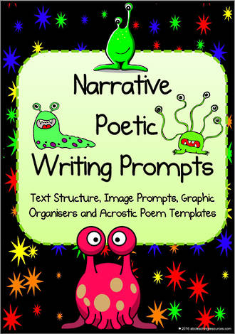 Narrative | Poetic | Planners |  Writing Prompt