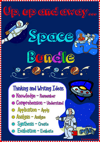 Space | Critical & Creative Thinking | Writing Prompts | BUNDLE