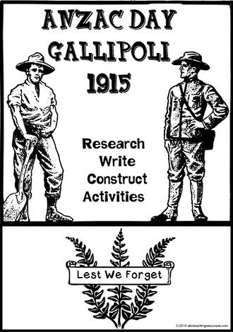 ANZAC Day | Gallipoli | Inquiry |  Writing Prompts