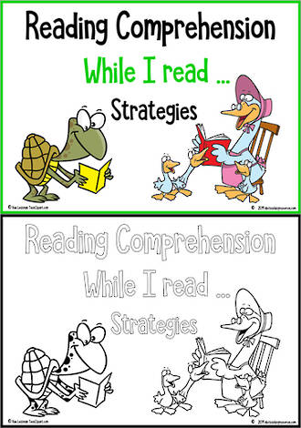 While I Read | Reading  Comprehension Strategies