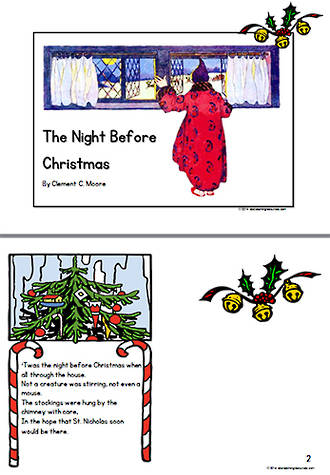 Christmas | The Night Before Christmas| Classic Poem