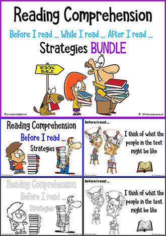 Reading | Comprehension Strategies | BUNDLE