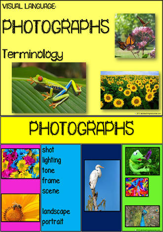 Visual Language | Photograph Terminology