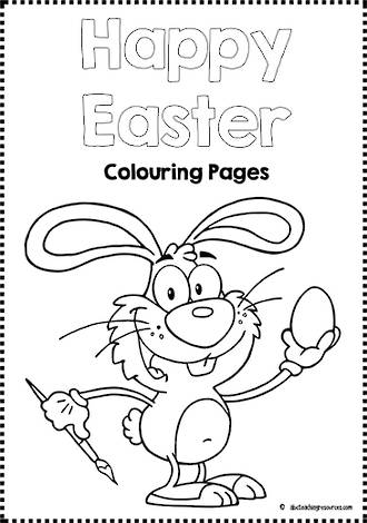 Easter Fun | Colouring Pages