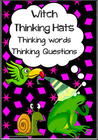 Witch Thinking Hats | Vocabulary and Questions