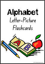 Alphabet | Letter-Picture | Flashcards | NSW-NZ  Print