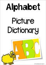 Alphabet | Picture Dictionary | A-Z Charts